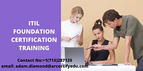 ITIL Certification Training Course in Pasadena,CA,USA tickets