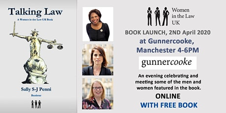 Postponed Talking Law Book Launch hosted by Gunnercooke tickets