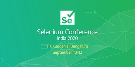 Selenium Conf India 2020 tickets