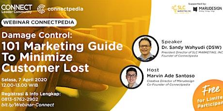 Webinar Damage Control: 101 Marketing Guide To Minimize Customer Lost tickets