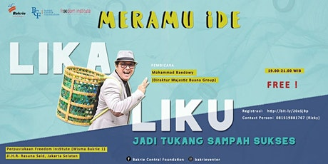 "Meramu Ide"" Lika-Liku Jadi Tukang Sampah"" tickets"