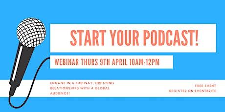 How Do I Start My Podcast? tickets