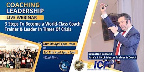 Coaching Leadership FREE Live Webinar tickets