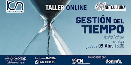 Taller Online: Gestión del Tiempo entradas