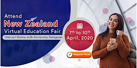 Attend New Zealand Virtual Education Fair from 7th to 10th April 20 tickets