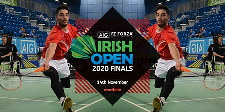 AIG FZ Forza Irish Open Finals 2020 tickets