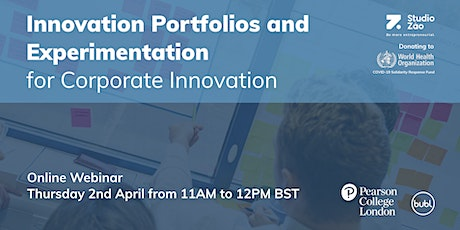 Innovation Portfolios and Experimentation for Corporate Innovation tickets