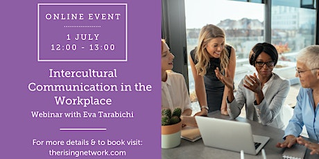 ONLINE EVENT: Intercultural Communication in the Workplace tickets