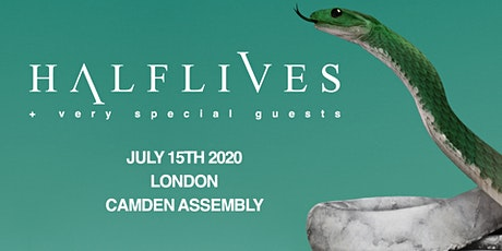 Halflives + special guests at Camden Assembly, London tickets