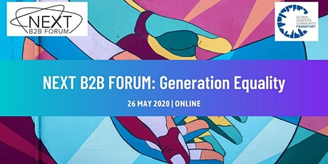 Next B2B Forum: Generation Equality tickets