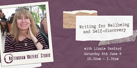 Writing for Wellbeing and Self-discovery tickets