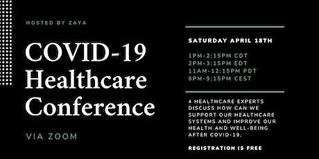 COVID-19 Online Healthcare Conference billets