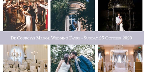 De Courceys Manor Wedding Fayre - Sunday 25 October 2020 tickets