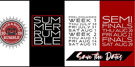 Rock & Roll Rumble Preliminary Night One tickets