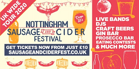 Sausage And Cider Fest - Nottingham 2 tickets