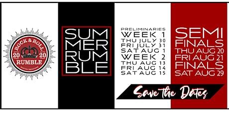 Rock & Roll Rumble Preliminary Night Three tickets