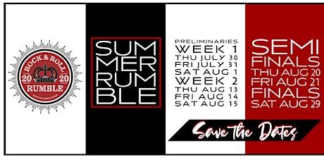 Rock & Roll Rumble Preliminary Night Six tickets
