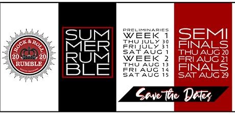 Rock & Roll Rumble Semi Final Night One tickets