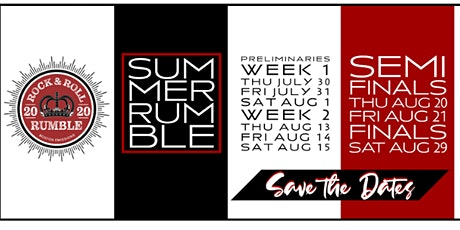 Rock & Roll Rumble Semi Final Night Two tickets