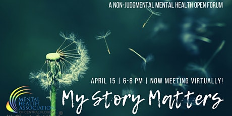 My Story Matters- NOW ONLINE! tickets