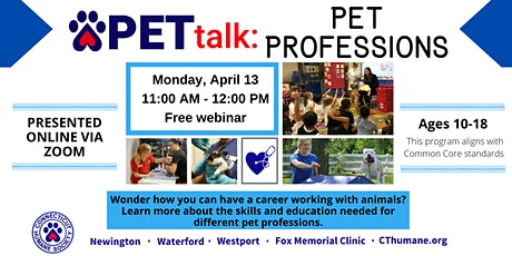 PETtalk: Pet Professions tickets