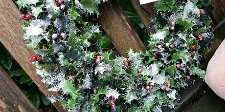 Christmas wreath making workshops tickets