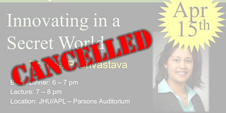 CANCELLED: Innovating in a Secret World tickets