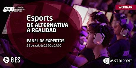 Webinar «Esports, de alternativa a realidad» entradas