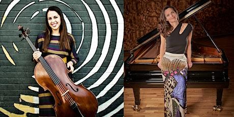 Dalia Lazar, pianoforte e Ludovica Rana, violoncello: Beethoven - Tempesta sonata, Brahms - violoncello sonata n.1 biglietti