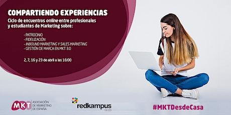 Encuentros entre profesionales y estudiantes:Inbound marketing y Smarketing entradas