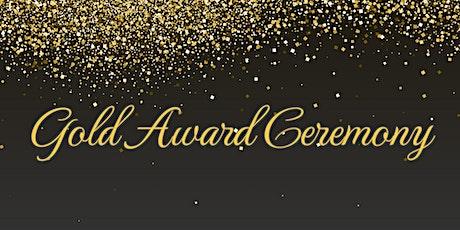Gold Award Ceremony & Dinner tickets