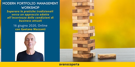 Modern Portfolio Management Workshop biglietti