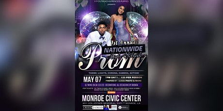 1st Annual Nationwide Prom tickets