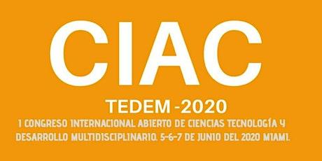 I CONGRESO INTERNACIONAL DE CIENCIAS, TECNOLOGÍA Y DES. MULTIDISCIPLINARIO entradas