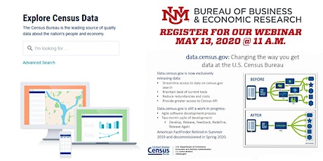 The new data tool Data.Census.gov tickets