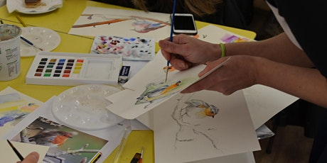 Adult Watercolour Painting class for all tickets