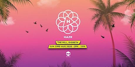 HAZE // 23rd August 2020 // Birmingham tickets