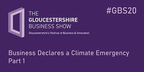 Business Declares a Climate Emergency Part 1 tickets