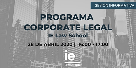 Sesión Informativa Corporate Legal tickets