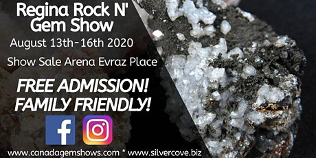 Regina Rock n' Gem Show tickets