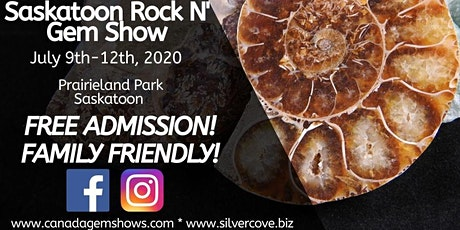 Saskatoon Rock n' Gem Show tickets