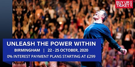 Tony Robbins UPW Birmingham 2020 - Book Tickets with Easy Payment Plans tickets
