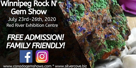 The Winnipeg Spring Rock n' Gem Show tickets