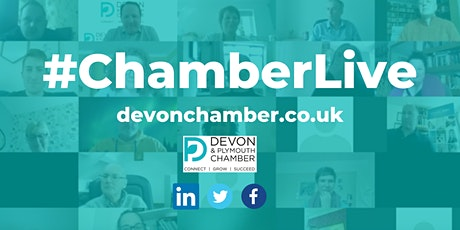 Chamber Live Virtual Event on Zoom - Cyber Security tickets