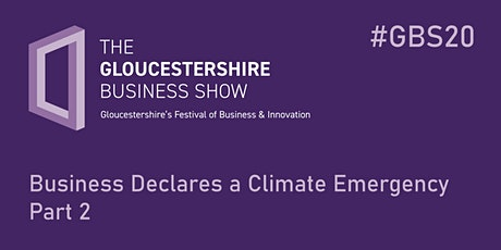 Business Declares a Climate Emergency Part 2 tickets