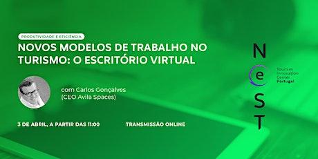 Novos Modelos de Trabalho no Turismo: O Escritório Virtual tickets