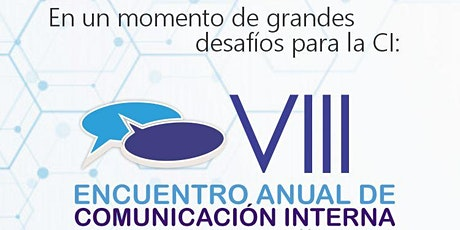 VIII Encuentro Anual de Comunicación Interna entradas