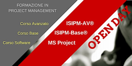 OPEN DAY PLAY SERIOUSLY WITH PROJECT MANAGEMENT! - LIVE STREAMING biglietti
