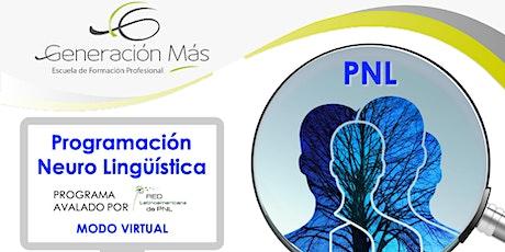 Practitioner PNL - Charla informativa ON LINE entradas