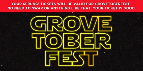 Grovetoberfest Craft Beer Festival 2020 tickets